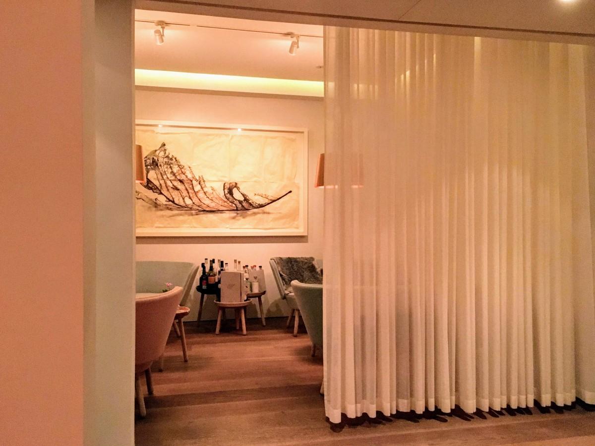 Gastrologicのバーコーナー。この後、改装されたとききました。こちらもグリーンスター・レストランです